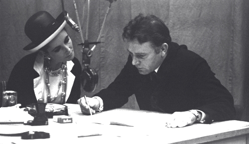 Richard Burton and Elizabeth Taylor by Michael Peto, copyright University of Dundee Archive Services